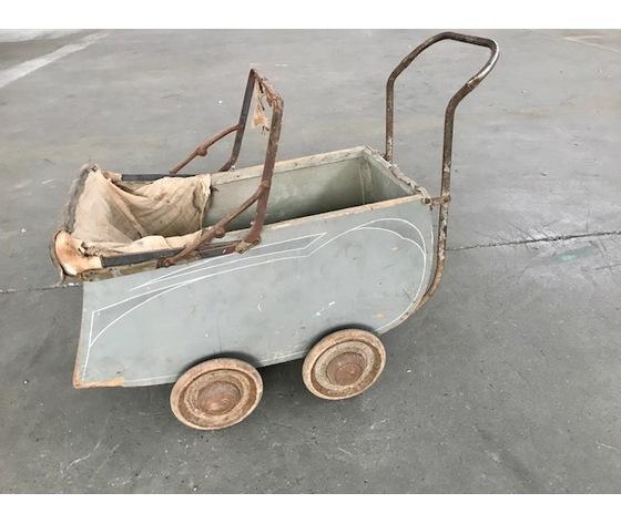 Carrozzina giocattolo Anni '50 - Da restaurare