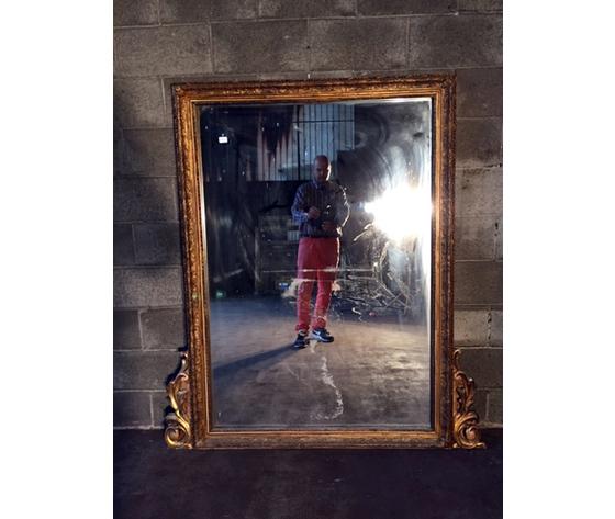 Antica ed Elegante Specchiera con Specchio Originale