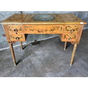 Elegante Toeletta Laccata Luigi XVI - Restaurata (in corso d'opera)