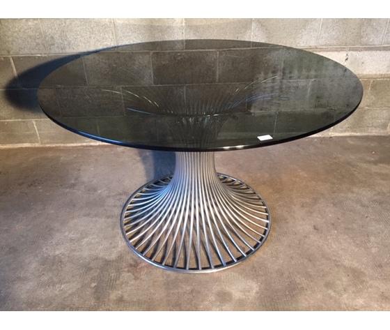 """Elegante Tavolo Rotondo """"Design"""" Anni '70/'80"""