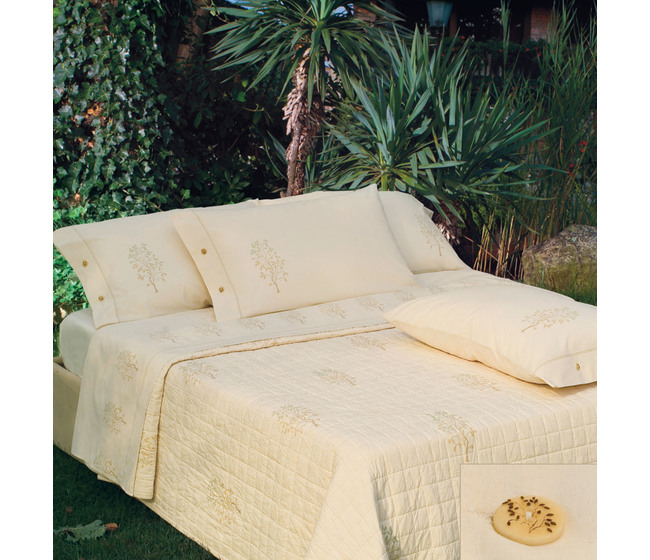 Completo lenzuola matrimoniale Naturae Tiglio