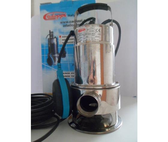 AQUAVORTEX pompa in acciaio inox per acque sporche
