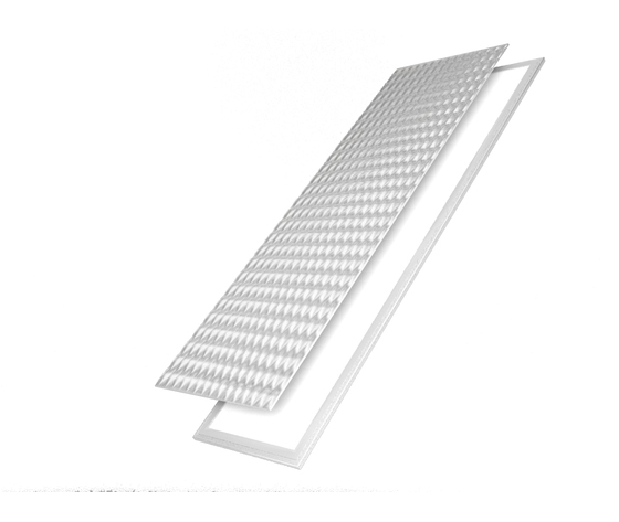 Led panel 12030 45W WW prismatic