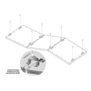 Kit sospensione modulare flessibile
