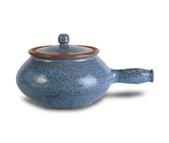 Cuocipatate pirofila in Terracotta Fascino Antico Blu