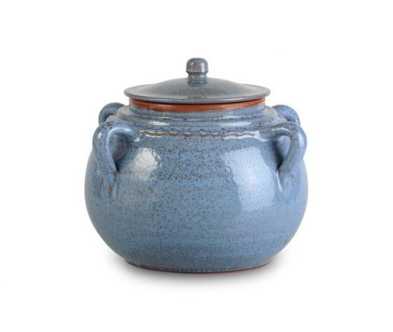 Legumiera pirofila in Terracotta Fascino Antico Blu