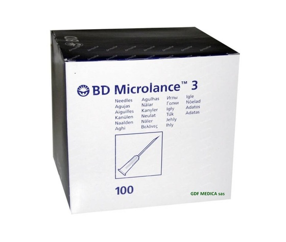 AGHI BD MICROLANCE 21G x 50 mm. - box 100 pz.