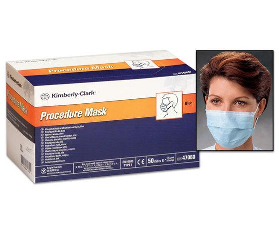 Mascherine chirurgiche 3 strati con elastico - Tecnol Procedure - Conf. 50 pz.