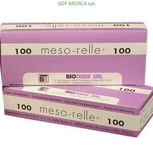 AGHI MESORELLE 30GX25 mm. - box 100 pz.