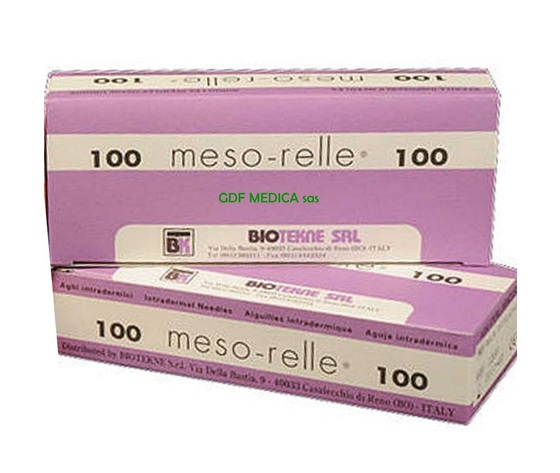 AGHI MESORELLE 30GX6 mm. - box 100 pz.