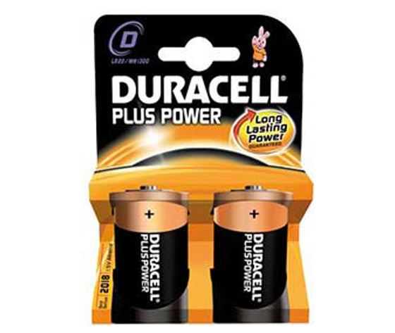 DURACELL TORCIA TIPO D