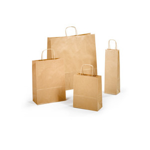 Shopper in carta avana