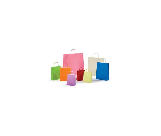 Shopper in carta colorate