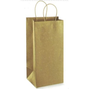 Shopper in carta 2 bottiglie