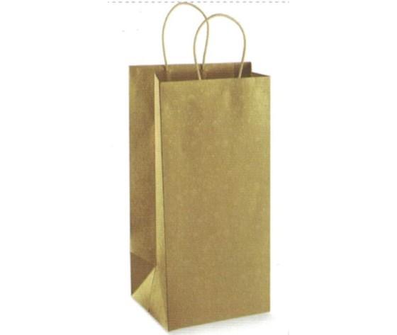 Shopper in carta 2 bottiglie