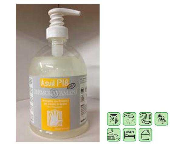 SAPONE ASUIL P18 500ml pH 5.5