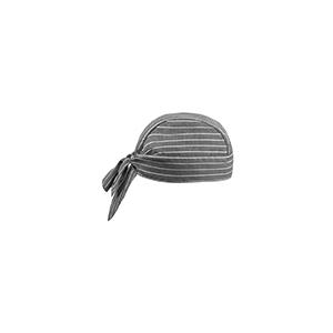 bandana da cuoco new grey stripe
