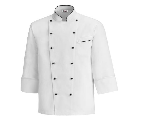 Giacca cuoco bianca taglie forti 5XL - 6XL - 7XL