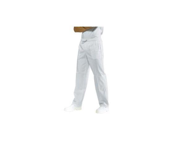 Pantalone bianco  Isacco cuoco / medicale taglie forti 5XL