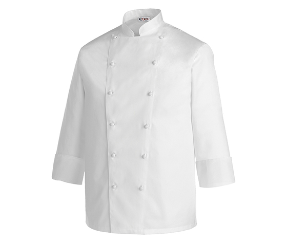 Giacca cuoco bianca Ego-chef Taglie forti 5XL-6XL-7XL