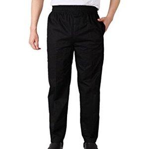 Pantalone da cucina nero Josh Siggi