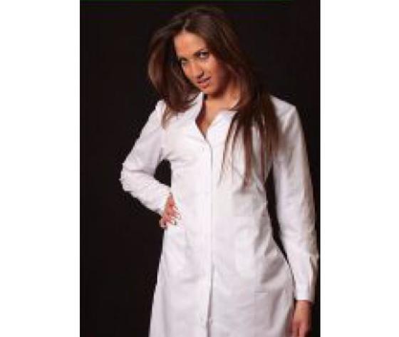 Camice medico bianco donna