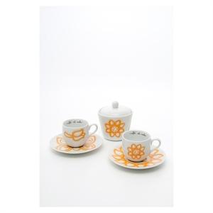 Set 2 tazzine espresso con zuccheriera Allegra Thun