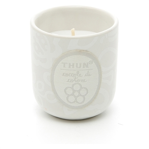 Candela in vasetto mini 'Coccole di Cotone' Thun