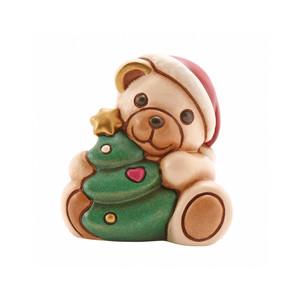 Teddy con albero di natale