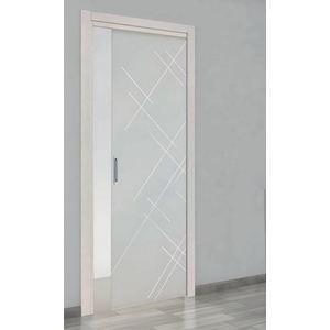 porta scorrevole a vetri Genziana