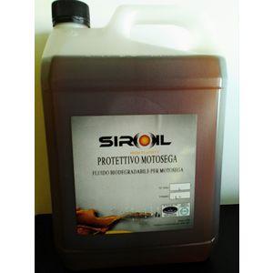 Olio protettivo Motosega SIROIL, olio catena 5lt