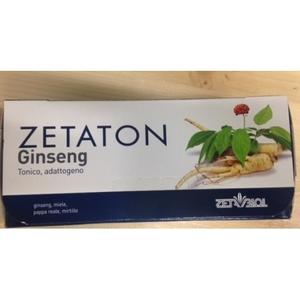 ZETATON GINSENG 12 FLACONCINI