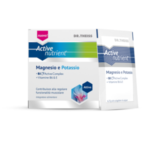 DR.THEISS ACTIVE NUTRIENT MAGNESIO E POTASSIO 20 BST
