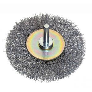 Spazzola circolarina acciaio