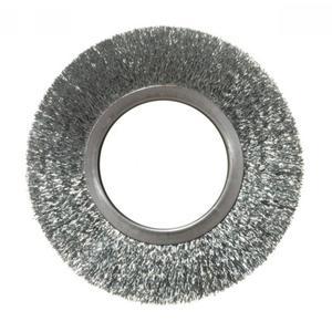 Spazzola ad anello acciaio