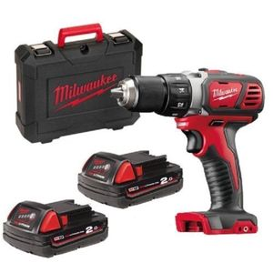 Milwaukee Trapano avvitatore 2 batterie 18 litio 2ah M18BDD-202C MW.443555