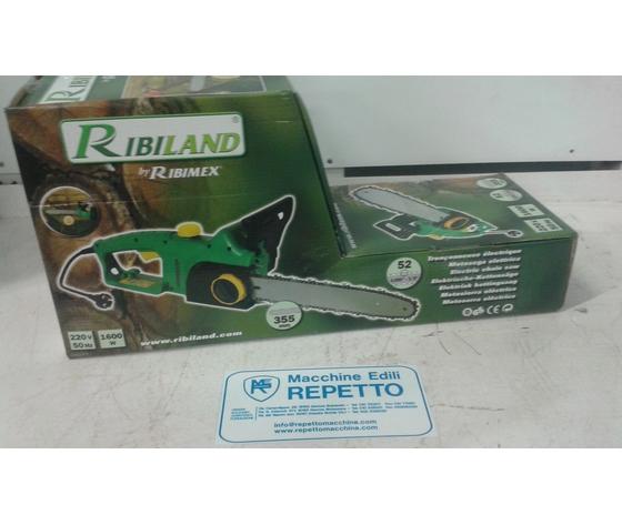 Motosega Elettrica Giardinaggio Elettrosega Ribiland PRTRE350