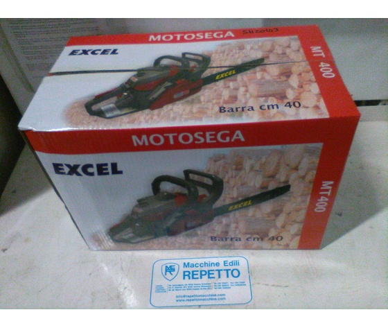 MOTOSEGA MT400 A SCOPPIO CC.37,2 BARRA CM.40 EXCEL EX.04325