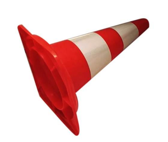 Kit 10 Coni Stradale h. 50 cm. PVC 700539