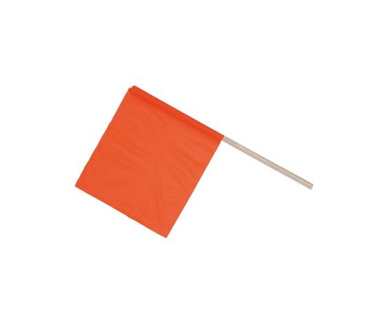 Kit 10 Bandierie segnalazione arancio per cantiere 700587