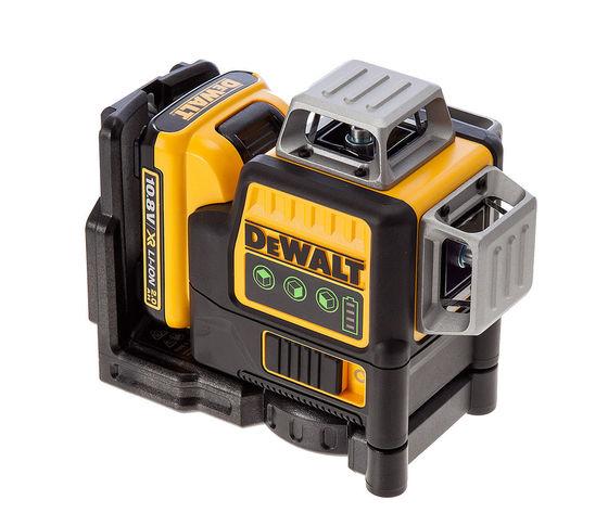 DEWALT DCE089D1G tracciatore laser 3linee orizzontale/verticale luce verde
