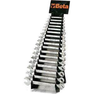 Set di chiavi combinate con supporto serie 17 pz - Beta BE42065
