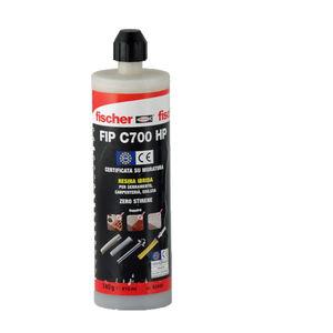 Conf 12 pezzi Ancorante tassello chimico FISCHER FIP C700 HP PLUS ml.400 F.93446