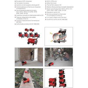 BIEMME DUE BM2 Riscaldatore, generatore aria calda 9.0664/BM2
