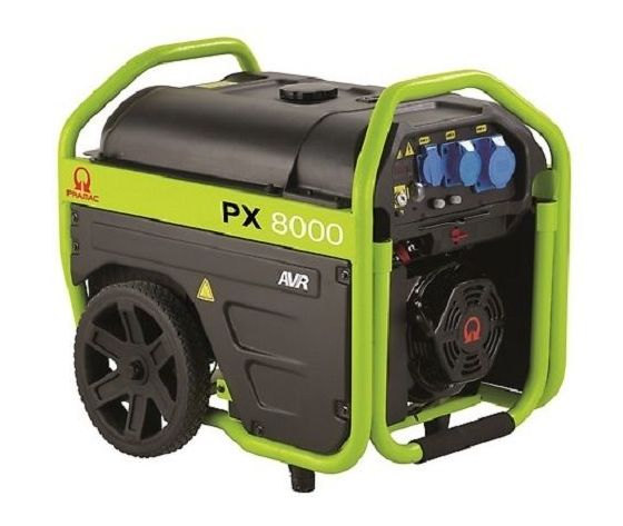 Generatore di corrente 5,4 Kw PRAMAC PX8000 9.0418/PR