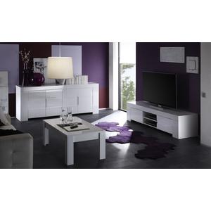 mod eos bianco lucido. base 4 ante 300€ base porta tv 2 ante con vano a giorno 200€ tavolino basso 120€