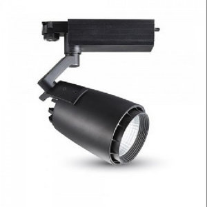 33W Proiettore a pista LED Bordo Nero- 3000k-1242