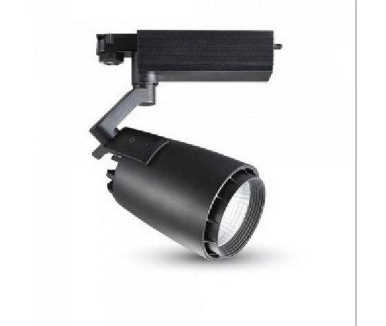 33W Proiettore a pista LED Bordo Nero- 3000k-1242