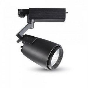33W Proiettore a pista LED Bordo Nero Bianco Freddo-1232