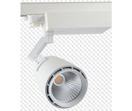 33W Proiettore a pista LED Bordo Bianco Bianco Caldo-1241